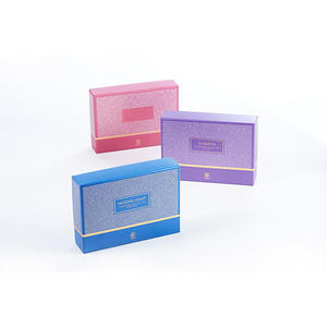 China glitter set up box supplier,cosmetic box packaging supplier